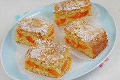 Marillenkuchen - mit versunkenen Marillen von Christine_R | Chefkoch Apricot Dessert, French Toast, Food Porn, Food And Drink, Cooking Recipes, Sweets, Baking, Breakfast, Desserts