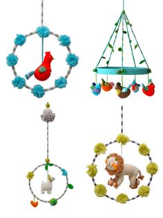 mobiles - these are really adorable