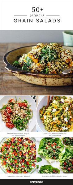 50+ grain salads that'll keep you full until dinner