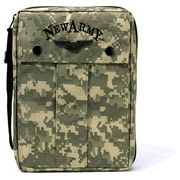New Army Bible Cover, Large, Camo  -