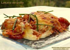 Receta de Lasaña de pollo. | Cocinar en casa es facilisimo.com