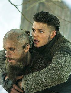 Vikings Floki and Ivar