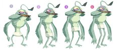 """Early """"Hotel Transylvania"""" character-designs by Fabien Mense - Part 2(Part 1)"""