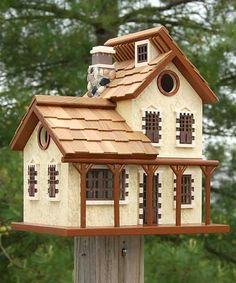 Home Bazaar Garden Cottage Bird House at BestNest.com