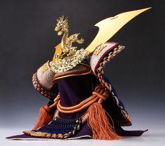 Japanese Samurai Kabuto Helmet -Kamakura Style- National Treasure Model for display