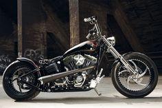 Customized #harley-Davidson Softail Rocker by #Thunderbike
