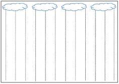 image lignes verticales la pluie