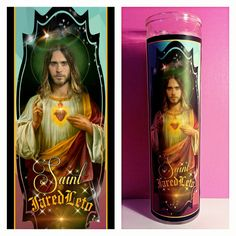 Jared Leto Prayer Candle
