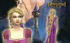 Rapunzel Braid by Kiara at My Stuff via Sims 4 Updates