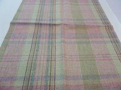 Wool Plaid Fabric Mulberry Fabrics 25 x 18 Skye by Fabricsamples10