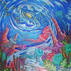 Legendary Landscapes Faber Prismacolor Coloringbookphilippines Coloringbookforadults Artgallery Coloringbooks Coloring