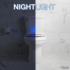 Wunderbar The Kohler Nightlight Toilet Seat Provides Optimal Light Intensity For  Guidance Without Disturbing Nighttime Vision.
