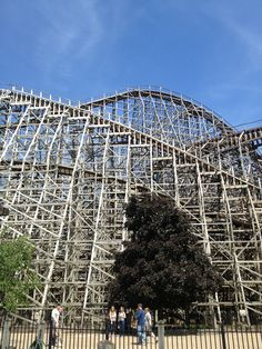 Mean Streak - Cedar Point Brain-rattling but my boys LOVE it! Coaster Crazy, Amusement Park Rides, Summer Jobs, Cedar Point, Water Parks, Roller Coasters, Carnivals, My Ride, Cleveland
