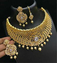 Bridal Jewelry, Gold Jewelry, Cz Jewellery, Jewelry Collection, Jewelry Sets, Ornaments, Antiques, Fashion, Jewels