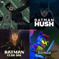 Batman Year One Movie, Leo, Lego Batman, Catwoman, Hush Hush, Dc Universe, Youtubers, Evolution, Cartoon