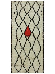 Vintage Hand-Knotted Moroccan Area Rug - Gilt Home