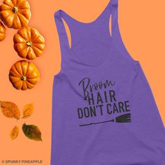 Tuck or Treat Funny Barre Tank Top Halloween Workout Tanks for Women