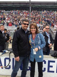 Sarah & Todd Palin - Indy 500 - Facebook