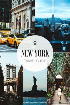 A complete guide to the must-see travel spots in New York City! It& such an awesome city, that you need some planning to fit it all in New York Travel Guide, Usa Travel Guide, New York City Travel, Travel Usa, Travel Tips, Hawaii Travel, Travel Guides, Cool Places To Visit, Places To Go