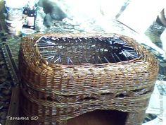 Вот такой кошкин дом сплела для двух котов(не моих) фото 7