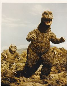 SON OF GODZILLA (1967) this is really funny. I think son  is a muppet