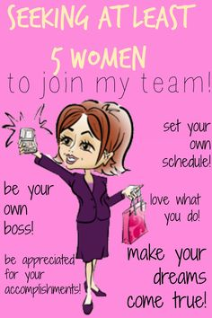 I am looking for 5 amazing fierce women to join my Mary Kay team! There is NO BETTER time than NOW to seize the Mary Kay opportunity! Mary Kay By Lindsay www.marykay.com/lverscharen