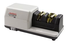 """Chef's Choice® Commercial Model 2000 Diamond Hone® Knife Sharpener by CHEF'S CHOICE. $455.49. Knife Accessories. Sharpeners. Manufacturer #: 200004. Chef's Choice Commercial Diamond Hone Knife Sharpener is 2 - stage for ultra - fine, sharp results! Professionals and gourmets, do your knives justice! This isn't just a little metal """"pass-through""""... this is an American made commercial model, suitable for a large restaurant kitchen. So if you're serious about keepin..."""