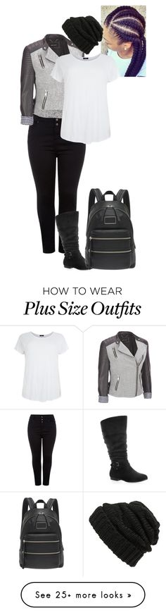 """""""Disguise (Aoife)"""" by shulabond on Polyvore featuring Black Rivet, Avenue, Leith, Marc by Marc Jacobs and plus size clothing"""