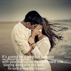Keith Urban- Long Hot Summer  I remember this being my jam in Summer '11... Right before his Get Closer Tour <3