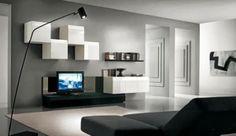 Décorations salons avec des télévisions ~ Décoration Salon / Décor de Salon