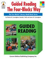 Guided Reading The Four-Blocks' Way (Grades 1-3) Provided are instructions for teaching reading comprehension skills and strategies; a variety of reading activities; and variations for kindergarten and upper-grade students. Supports the Four-Blocks Literacy Model. http://www.examville.com/examville/Guided%20Reading%20The%20Four-Blocks%27%20Way-TKIDCSD2407EB-TKTYTecknoProduct #reading #elementaryschool #teaching #teachers #classrooms #workbooks #schools #education #writing #children…