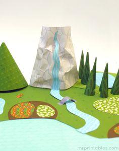 Nice Mister Maker Riproduzione Stick Animali Craft Kit Regalo Art Bambino Nuovo Lettini
