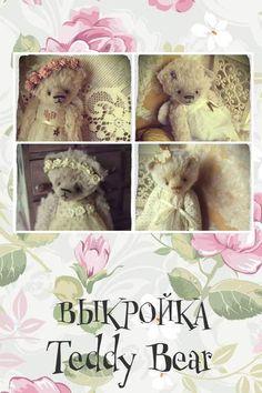 Pattern Teddy bears in PDF By Moshkina Elena - Bear Pile