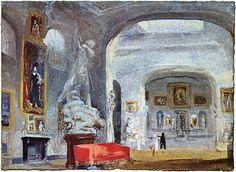 The North Gallery, Petworth House, Sussex