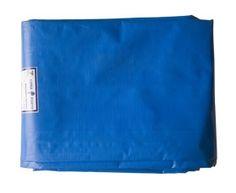 Lona de Rafia com Polietileno Azul