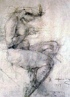 Nicolai Fechin, Study (1919)