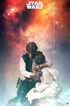 OSR: Star Wars: scale Princess Leia Final - Photos by Dick Po, Siuping, Plastic Enemies, & 橙默style Star Wars Poster, Star Wars Art, Star Trek, Han Solo Leia, Han And Leia, Star Wars Drawings, Star Wars Merchandise, Star War 3, Carrie Fisher