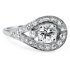 The Genesis Ring from Brilliant Earth.. so different and beautiful!!