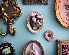 Mushrooms, mushroom decor, small mushroom wall decor, pink mushroom decor, oddities, curiosities, mushroom miniatures, decorative mushroom