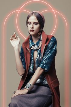 Natasha by Marco D'Amico for Vogue Italia December 2012