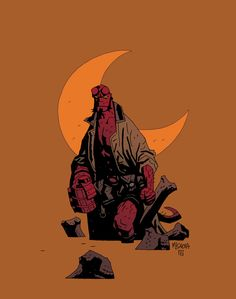 Hellboy by Mignola