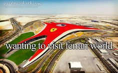 #Ferrari World | Photo by: Visit Abu Dhabi