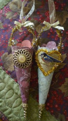 Vintage-Inspired Valentine Cone