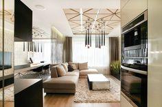 Bez zbytočných stien. Jednou Divider, Couch, Room, Furniture, Home Decor, Bedroom, Settee, Decoration Home, Sofa