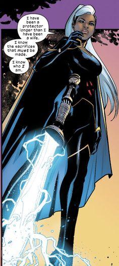 Storm Comic, Storm Xmen, Storm Marvel, Female Black Panther, Black Panther Storm, Xmen Comics, Dc Comics Art, Ororo Munroe, Black Cartoon Characters