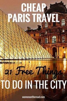 Cheap Paris Travel: 21 Free Things To Do In Paris