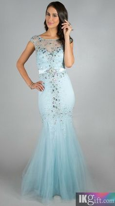 I love this blue dress and the sparkles and the bottom mermaid