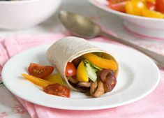 These delicious wraps are as easy to make as they are to eat, and cut down on the cutlery too