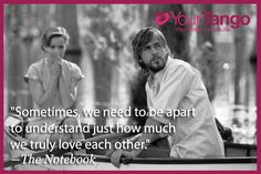 The Notebook - Gena Rowlands, James Garner, Rachel McAdams- Couple Costume Since my husband is Ryan's doppelganger Nicholas Sparks, We Fall In Love, Falling In Love, My Love, The Words, Rachel Macadams, Quotes To Live By, Me Quotes, Movies Quotes
