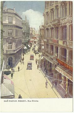São Paulo (1930's): Rua Direita